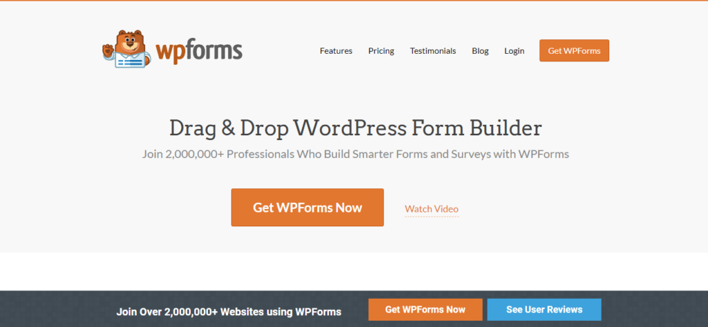 WP Forms - contact form plugins