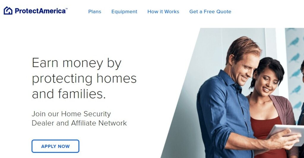 ProtectAmerica home security affiliate programs