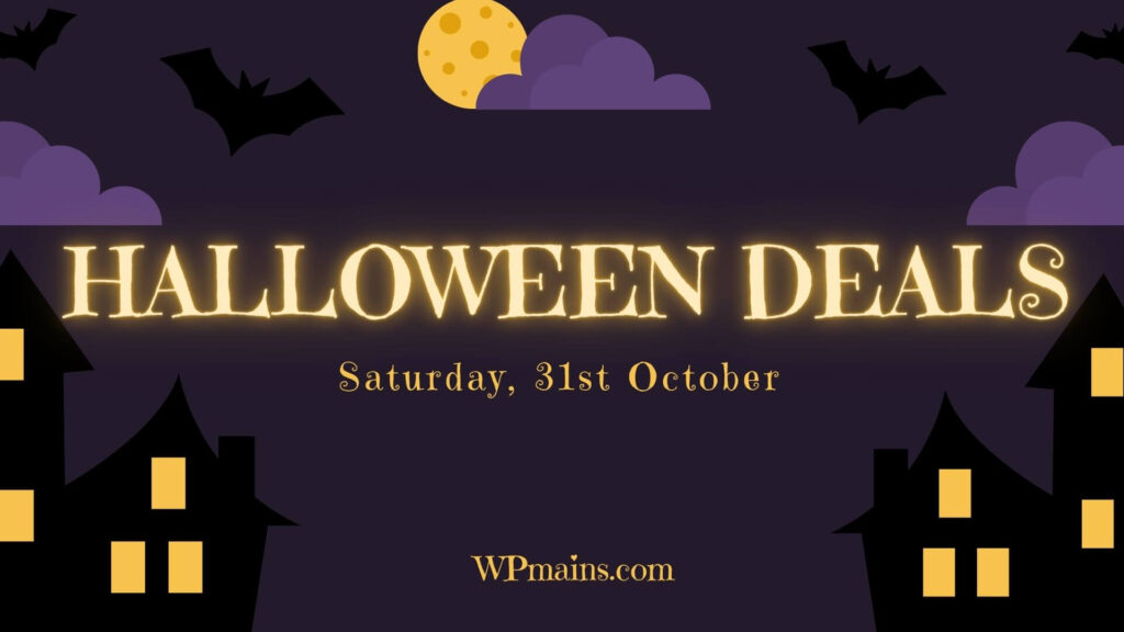 Halloween WordPress deals 2020