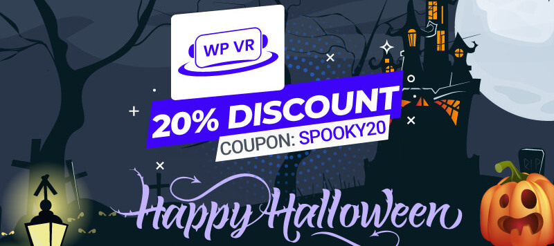 WPVR Halloween WordPress deals