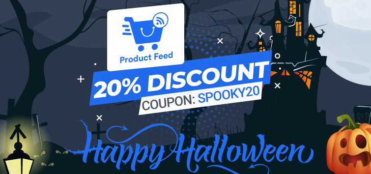 WooCommerce Product Feed Manager Halloween Deal