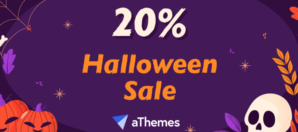athemes halloween sale 2020