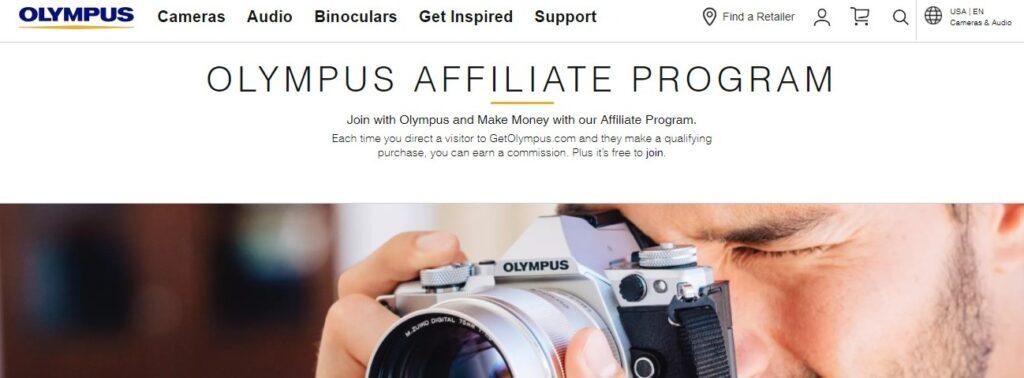 Olympus Affiliate Program