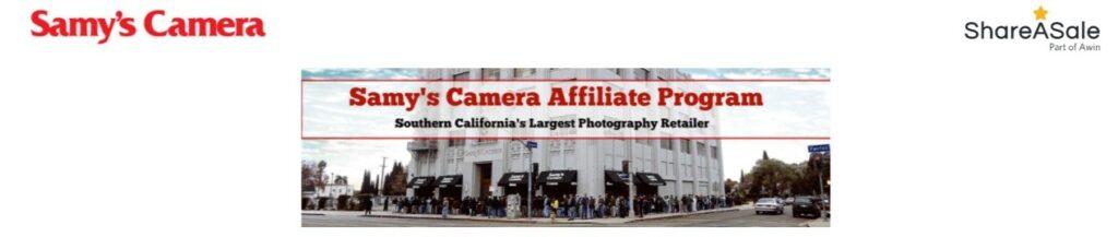 Samy's Camera Affiliate Programs
