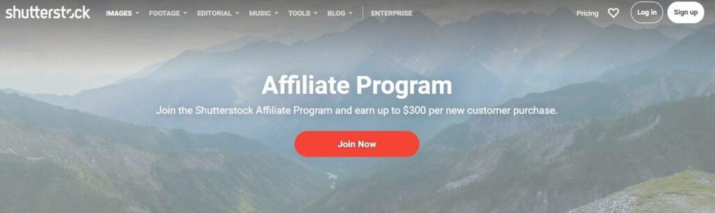 Shutterstock Affiliate Program