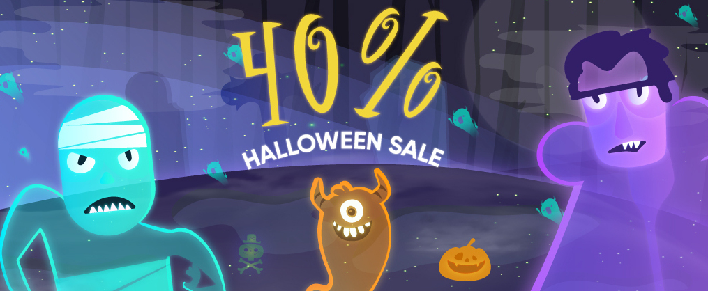 Themeum Halloween deal 2020 - 40% off